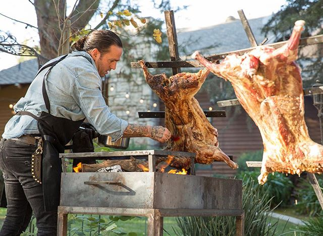 There's something really incredible and beautiful about being connected to your food. Understanding the process of raising an animal the right way and being a part of the harvest all lead to a deep respect and appreciation when cooking it and enjoying it. #fieldtofork #nosetotail #wholeanimalbutchery #fireroasted #woodfired #pasturedlamb #pastureraisedmeat #farmsupper #farmtotable #slowfoodusa #supportfarmers #animalsraisedresponsibly #eatlocal #eatrealfood #meetyourmeat #feedfeed #eaterla #laeats #sandiegoeats #eatersandiego #forkfeed #foodforthought #lowandslow #goodfood #eatgoodlivegood #foodforthesoul #lamb #catering #welcometotheshow