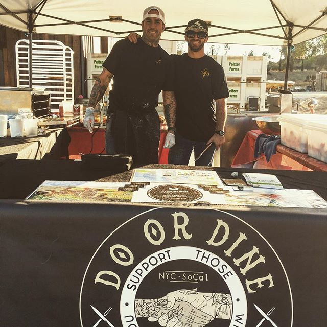 Come visit these two handsome devils tonight @peltzerwinery Anniversary Bash! Frying up some @pasturebird Nashville Hot Chicken 🍗🍗🍗🍗 and Biscuits. Open to the public! Live music, great local food and of course ALL of the WINE 🍷 🍷🍷🍷 ... and Notorious P.I.G!!! 🐷 #peltzerwinery #peltzerfarms #partyatpeltzer #temeculawinery #temecula #nashvillehotchicken #friedchicken #fieldtofork #pastureraisedchickens #farmfresh #farmbash #forkyeah #feedfeed #eeeeeats #laeats #sandiegoeats #temeculaeats #winnerwinnerchickendinner #soulfood #pigraces #pumpkinpatch #wineanddine #winery