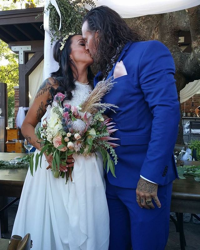 Say hello to the newlywed Mr and Mrs Do or Dine! Absolutely blessed to have had such a beautiful wedding to share with our family and friends! I am so excited to begin our new journey as husband and wife. #mrandmrs #justmarried #dreamwedding #husbandandwife #italianwedding #happilyeverafter #bestfriendgoals #badasscouple #doordine #doordinecatering #wifelife #blessed #worktogetherplaytogether #worktogethergrowtogether #mysweetlove #tattooedcouple #beautiful #weddingdress #wedding2017 👰🏻🤵🏻💕💕💕