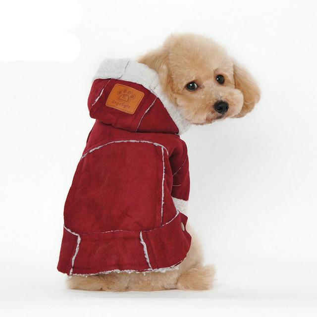 Sale of the week! - Dog red Coat for only 35$