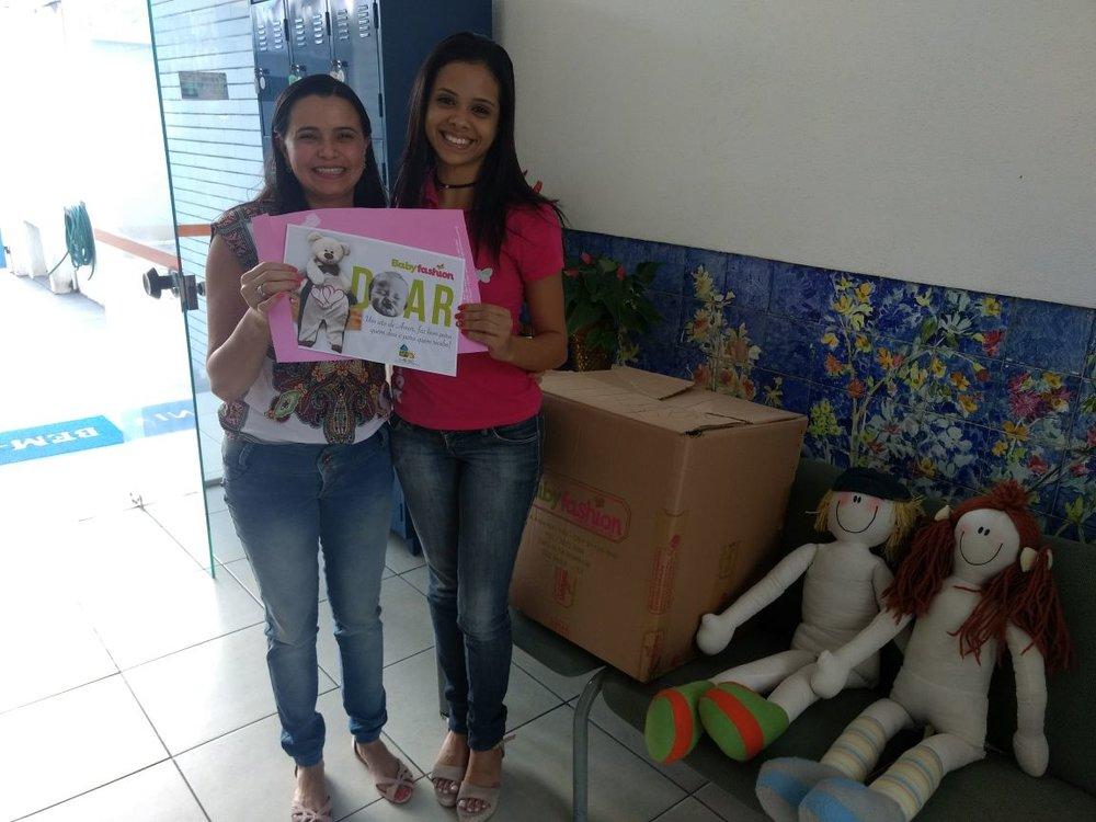 A Babyfashion engajada em ajudar quando o assunto envolve crianças, realizou mais uma visita a instituição Lalec, doando roupas e brinquedos, necessários para o melhor conforto das crianças aparadas pela casa.
