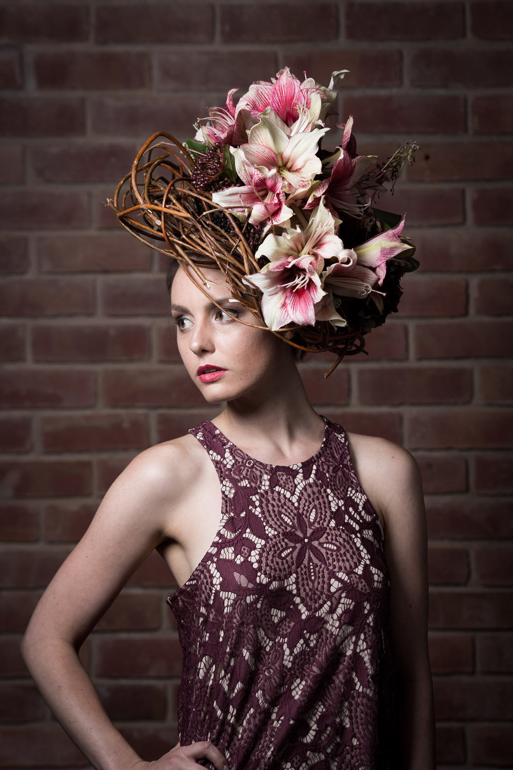 FLOWER COUTURE FASHION SHOW AT NUMU NEW MUSEUM IN LOS GATOS. PHOTOGRAPHY BY PAUL FERRADAS