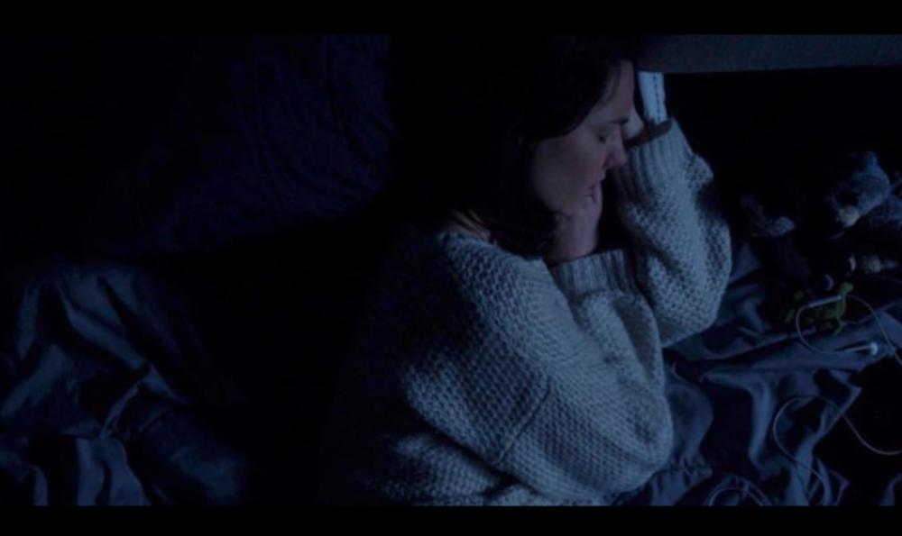 """FILM STILL FROM """"HOLLOW"""" (2016) DIRECTED BY PATRICK MATTES. """"HOLLOW"""" WAS A SEMI-FINALIST IN THE TOP 15 FILMS IN THE 2016 48 HOUR FILM FESTIVAL."""