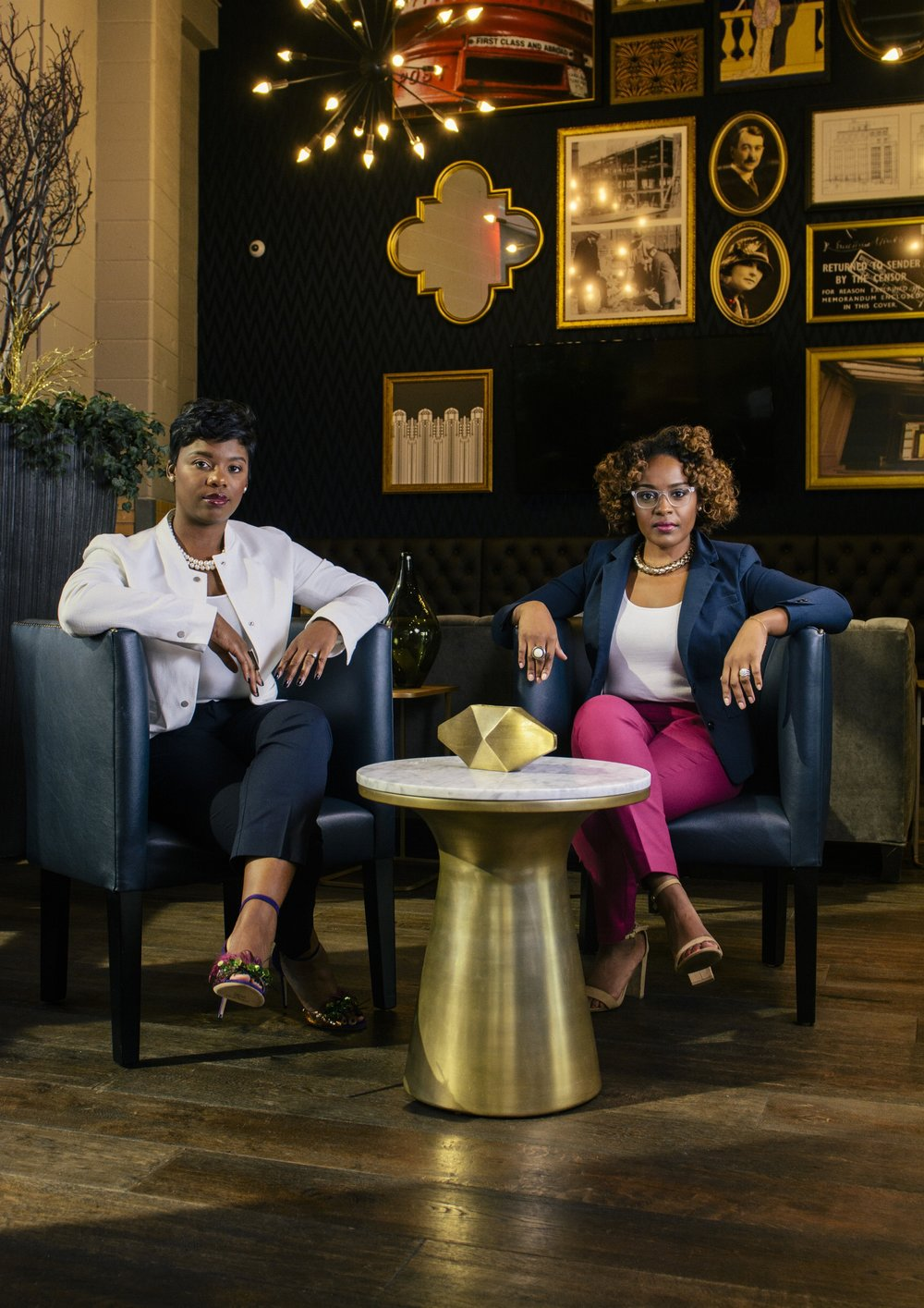 - Shawntera Hardy and Camille A. Thomas are entrepreneurs committed to empowering and advancing women business owners. They both own and operate businesses and understand the importance of being seen and invested in. The two found themselves disheartened by the lack of representation of Black women business owners in local and national publications and platforms. This started the journey that birthed Fearless Commerce  and there is no turning back. Shawntera and Camille are committed to sharing the voices, the experiences, the stories and the images of successful Black women business owners.