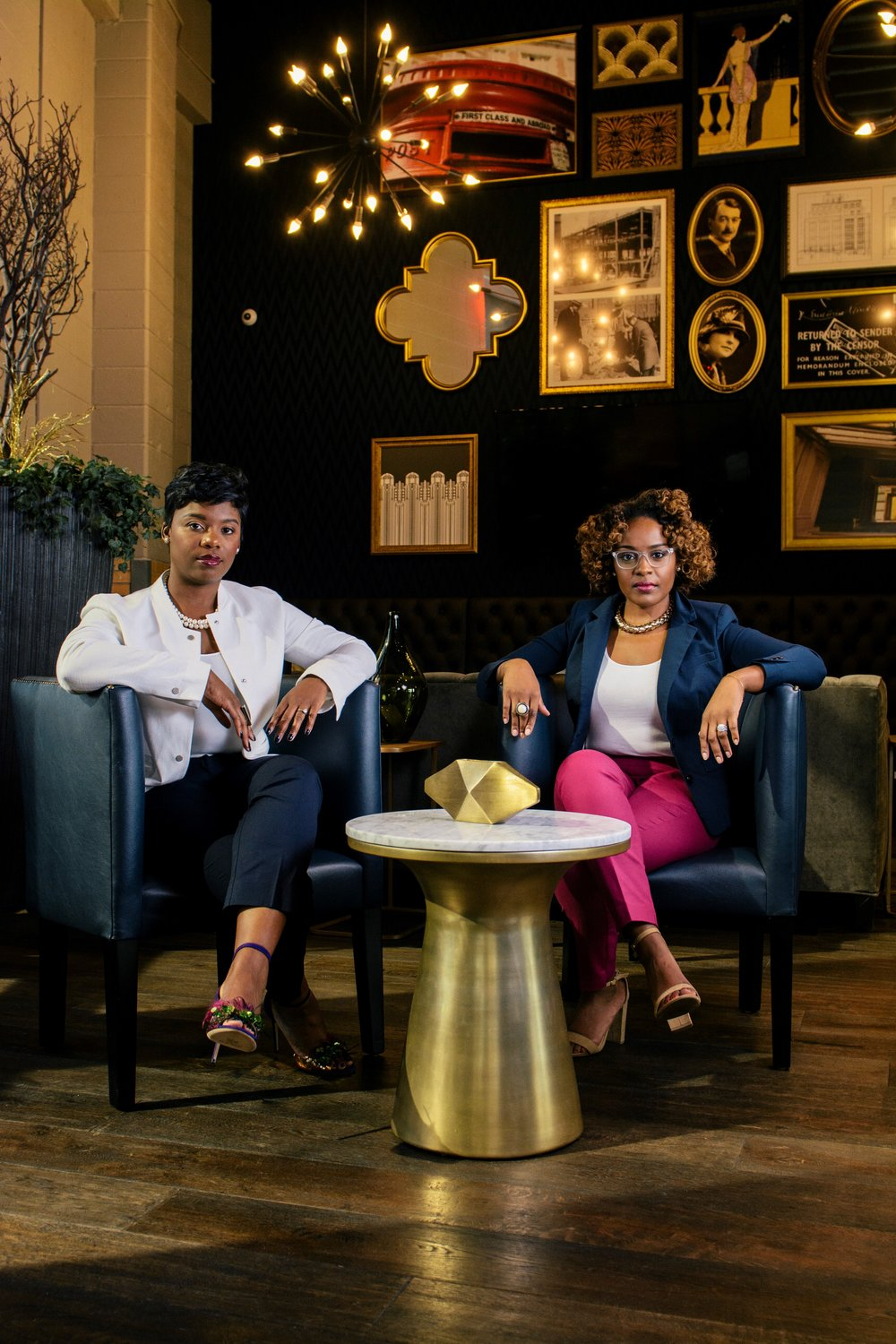 - Shawntera and Camille are entrepreneurs committed to empowering and advancing women business owners. They both own and operate businesses and understand the importance of being seen and invested in.The two found themselves disheartened by the lack of representation of Black women business owners in local and national publications and platforms. This started the journey that birthed Fearless Commerce and there is no turning back. Shawntera and Camille are committed to sharing the voices, the experiences, the stories and the images of successful Black women business owners.