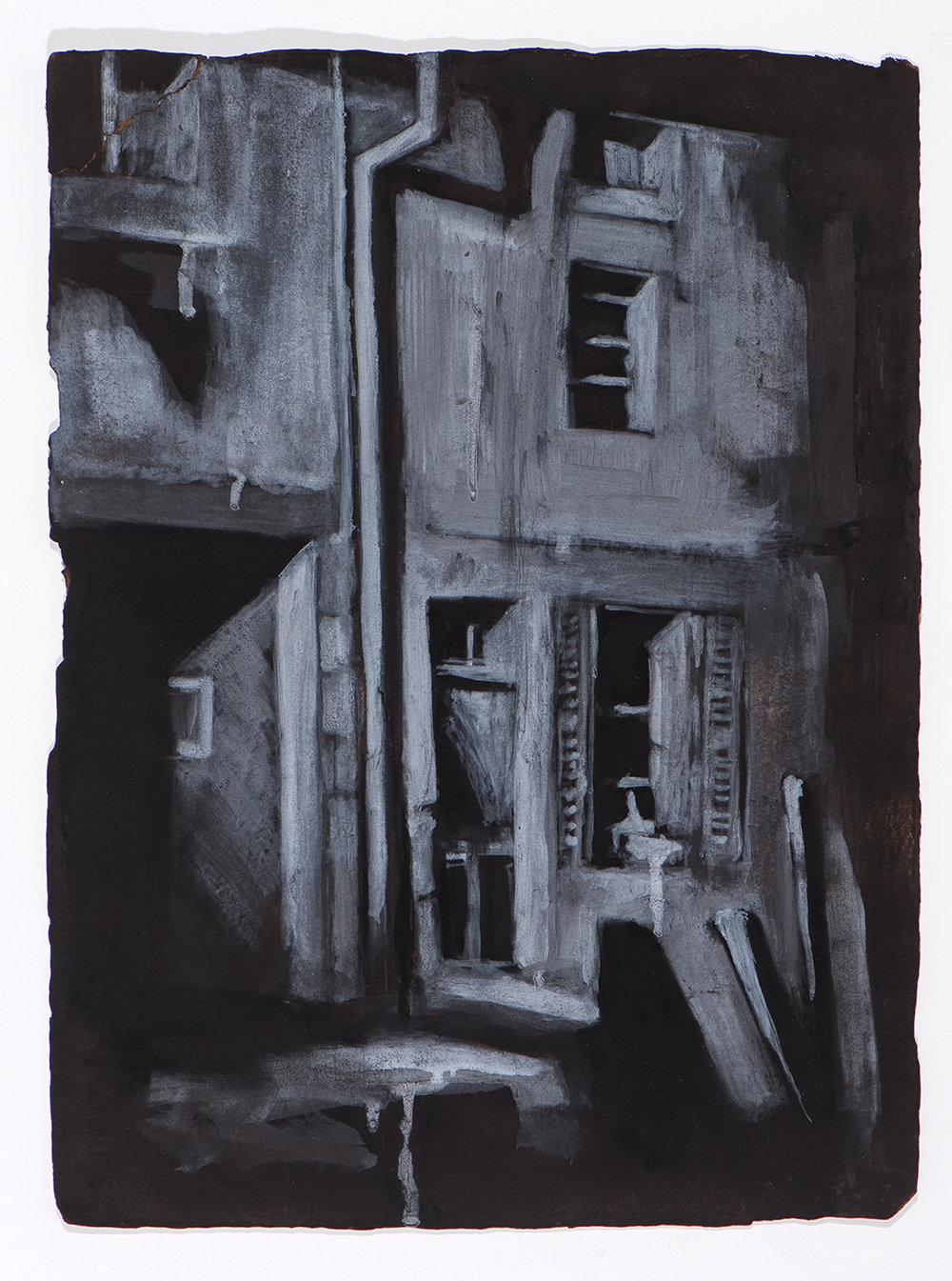Pazderka - Orquevaux Rue de l'Eglise - 11x15.jpg