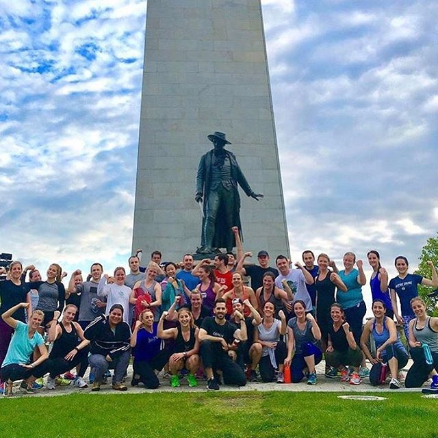 And we are back on the hill! Stoked to have officially kicked off the #outdoor #bootcamp season this week. Come join us for a free week trial or sign up via link in bio. Rise n sweat with our kickass crew every MO/WE/FR from 6-6:45 am.