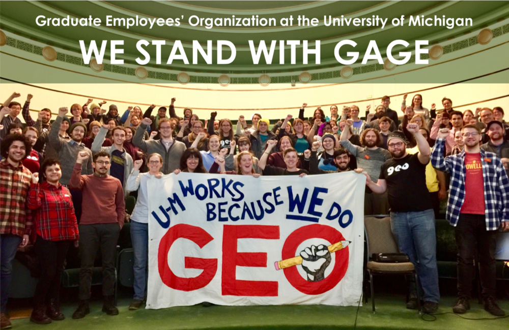 GEO : University of Michigan Graduate Employees' Organization