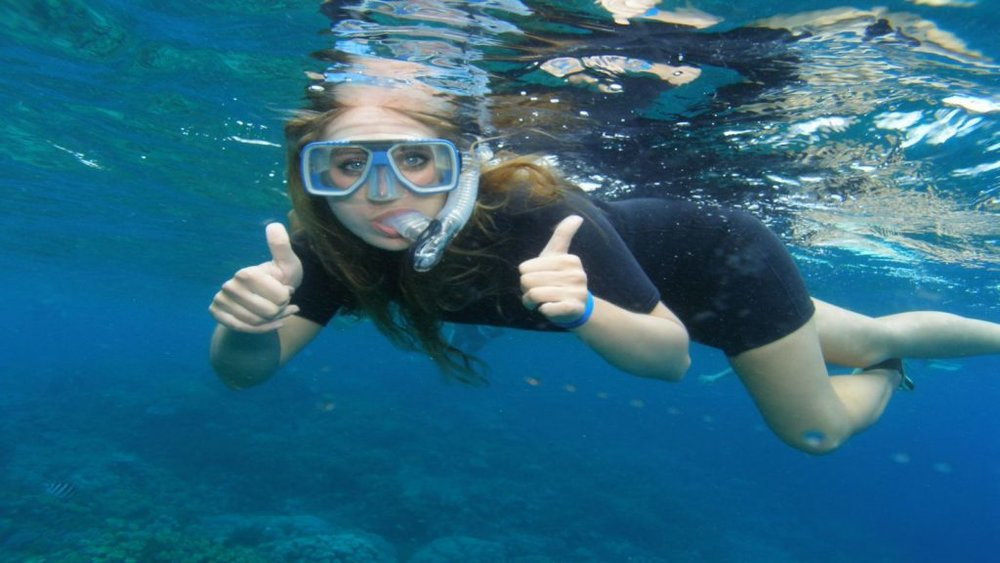 the only snorkeling & Fishing charter -