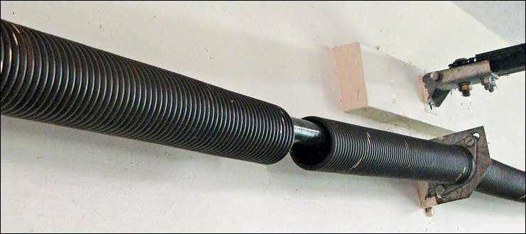 garage door springs. Replace Broken Garage Door Springs