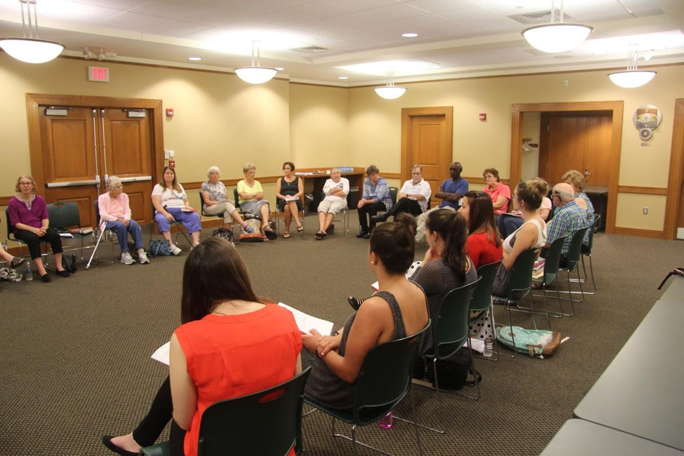 A photo from the Leominster Public Library Book Discussion