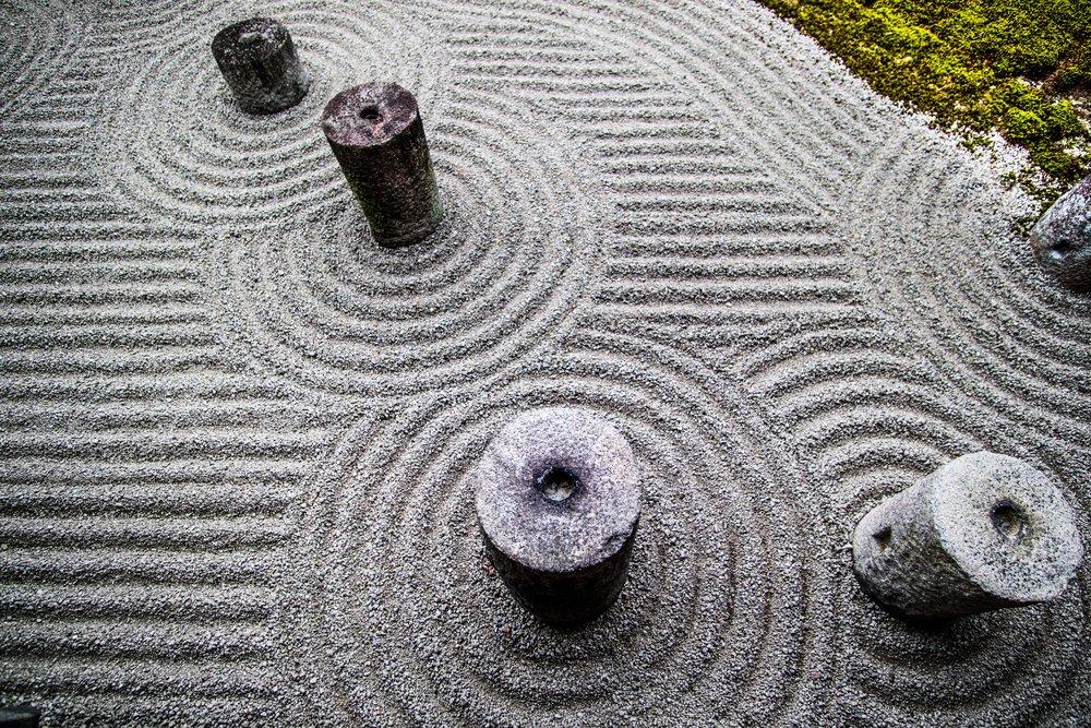 Tranquil Zen Garden.