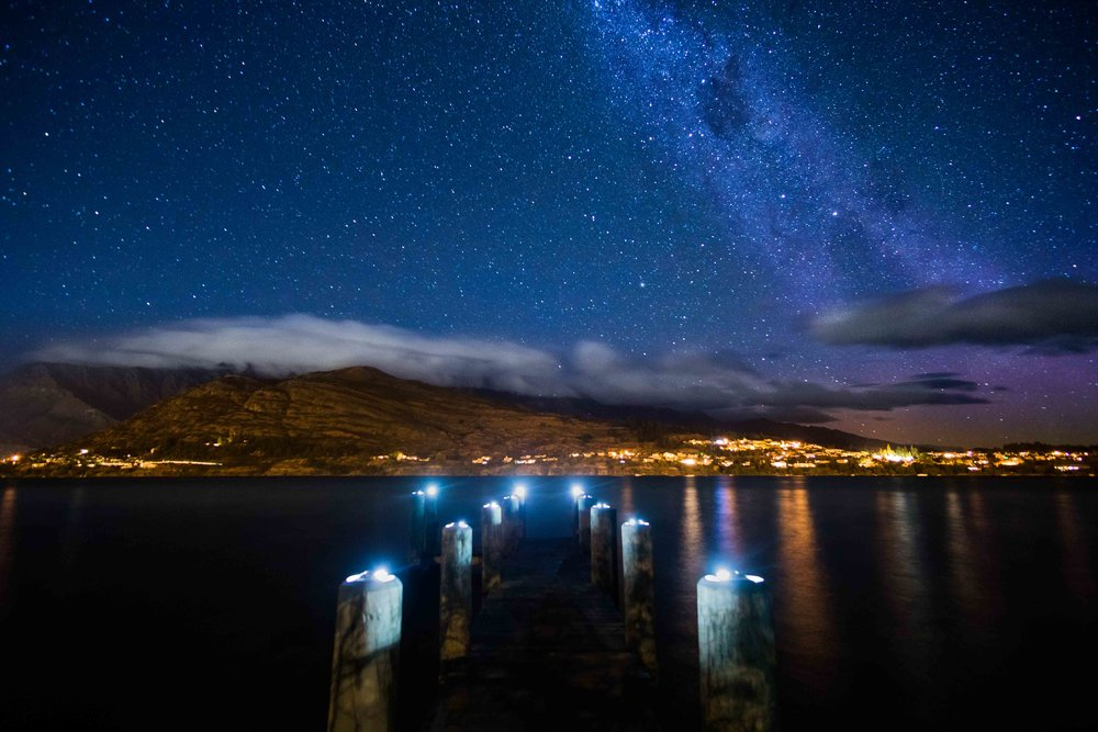 Milky Way above Queenstown, NZ.