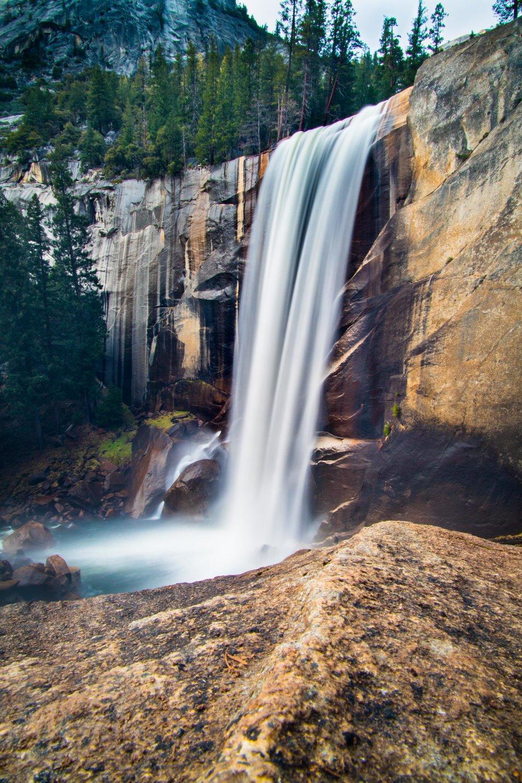 Vernal Falls Yosemite.