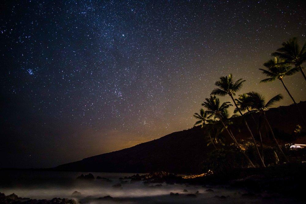 Stars in Kona.