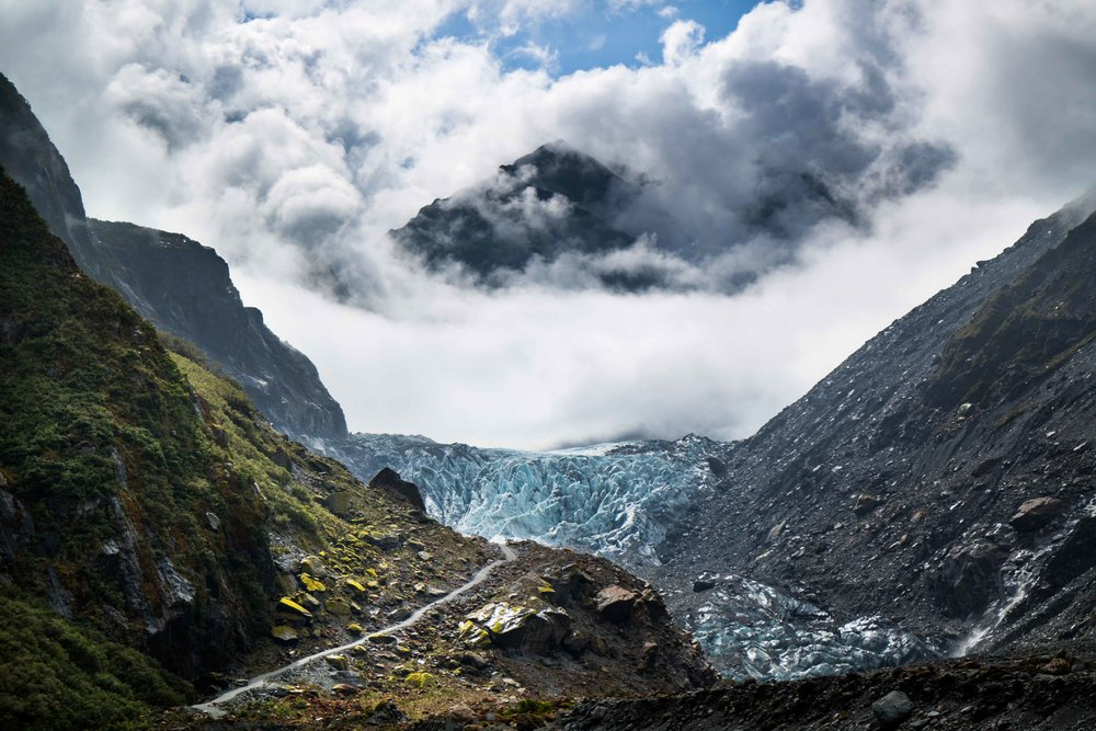 Fox Glacier, NZ.