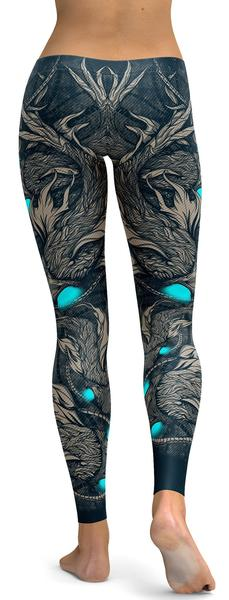 NIGHT FISH LEGGINGS - $87.99