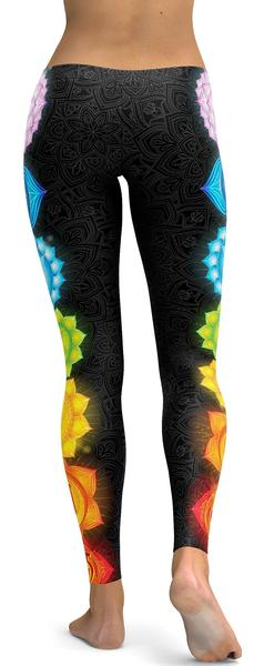 CHAKRAS LEGGINGS - $87.99