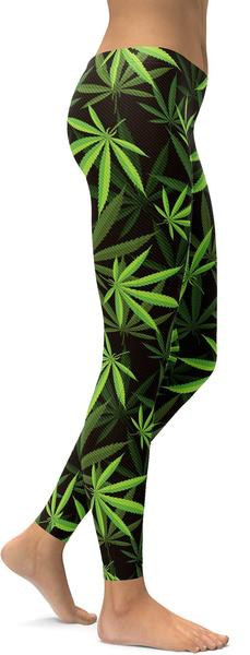 CANNABIS LEGGINGS - $87.99