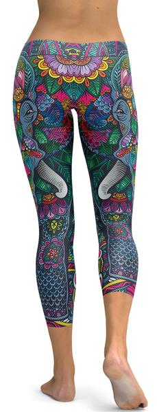 COLORFUL ELEPHANT CAPRIS - $79.99