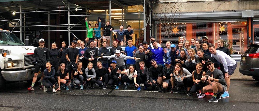 Saturday Long Run               -                                                 9:01am                                              Open Run