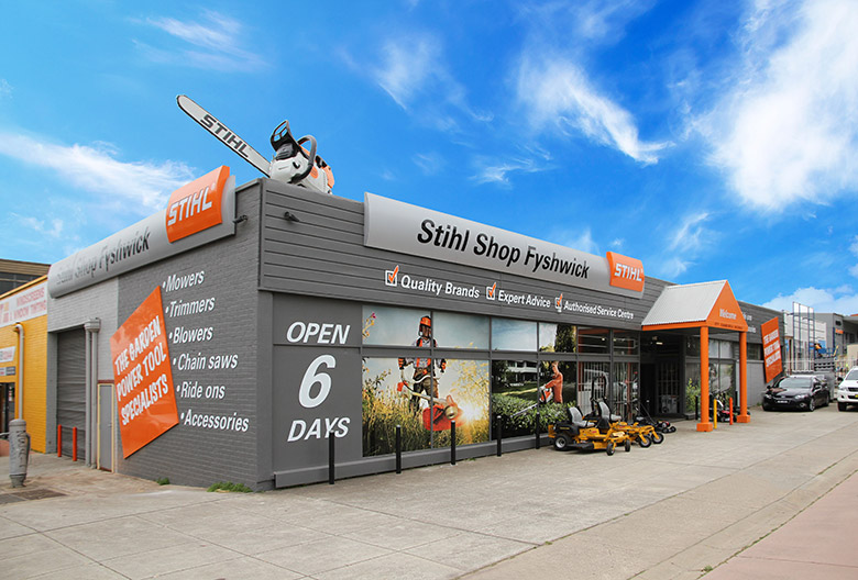 STIHL EXTERNAL SIGNAGE PROGRAM