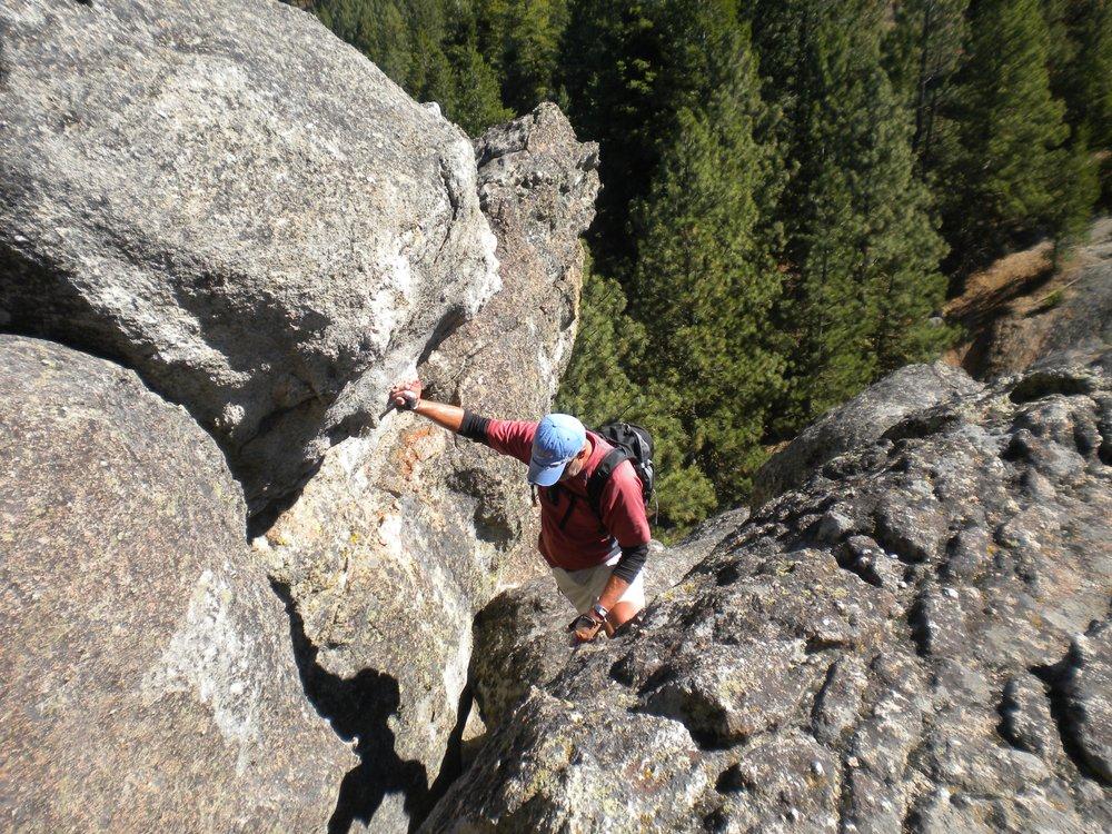 Stack Rock - near Boise, Idaho
