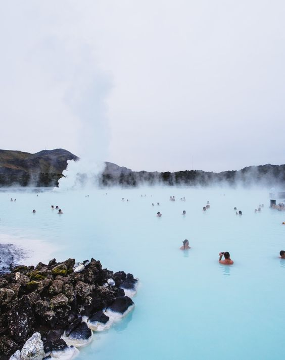 Blue Lagoon, Iceland Source:  Top Travel Trends   Pinterest Inspiration