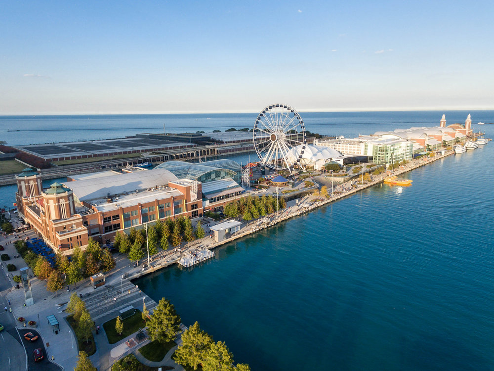 Navy Pier, Chicago Photo:  Marco Verch   Pinterest Inspiration