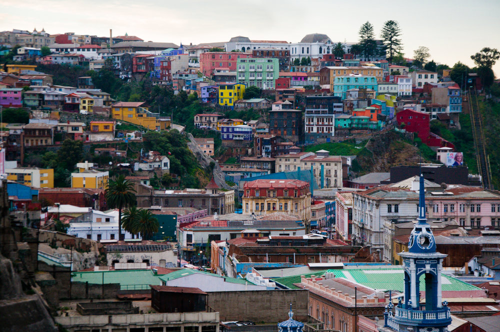 Valparaíso, Chile Photo:  Mitch Altman   Pinterest Inspiration