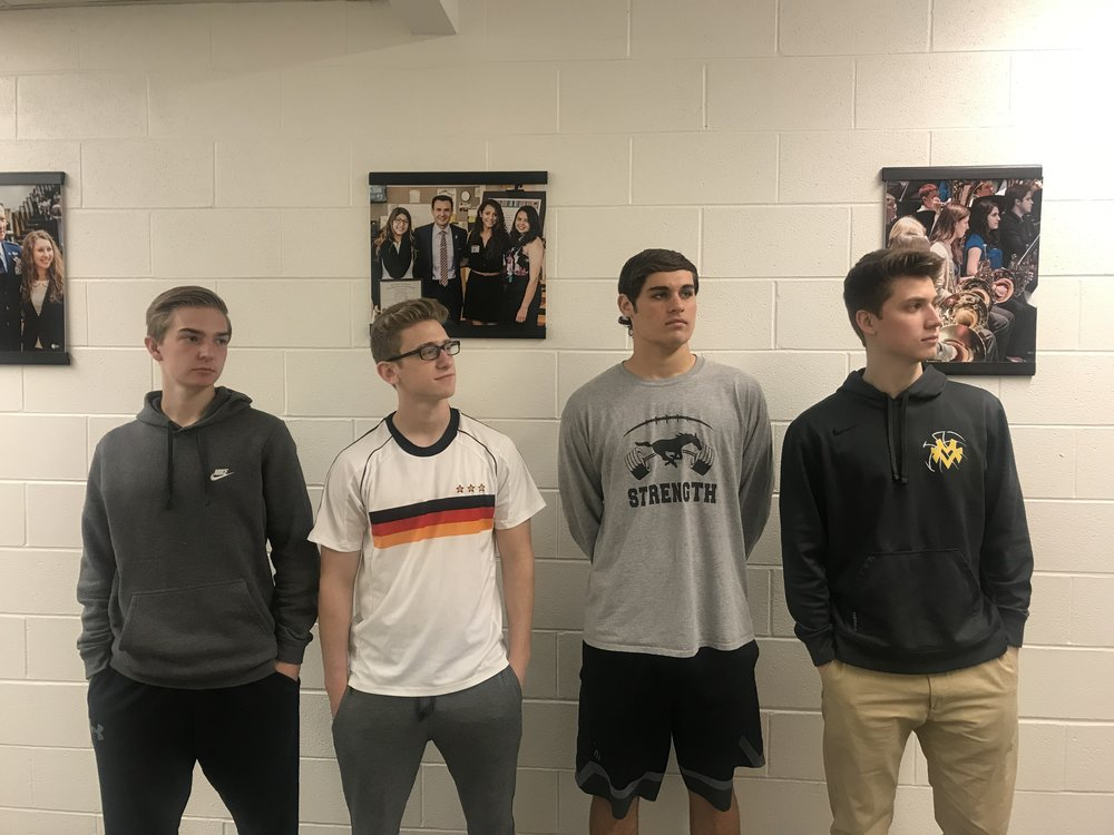 Human Resources  - Drew Berry, Grant Levin, Max Cussans, Nick Herrmann