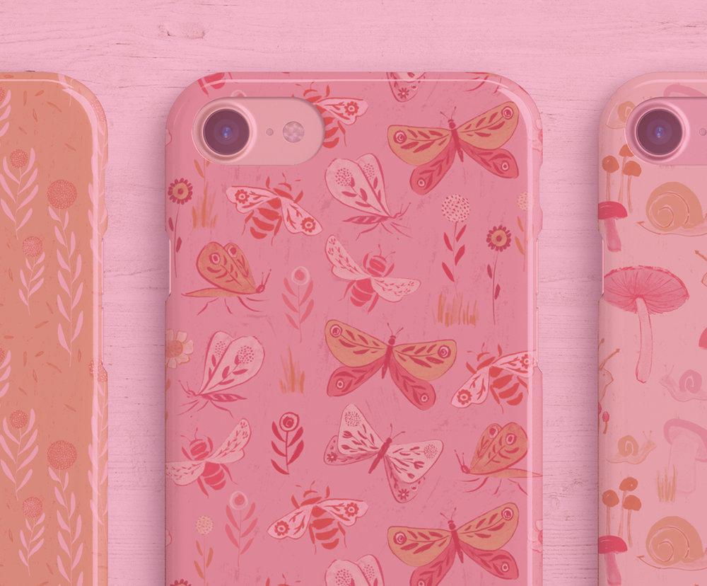 Phone cases + accessories -