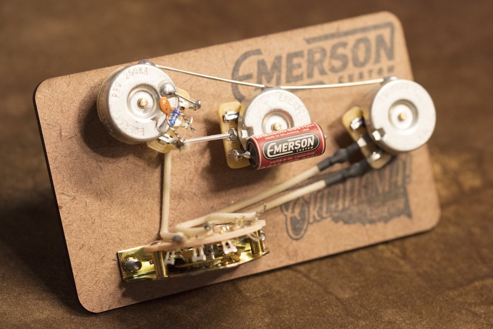 Emerson Custom 5-way Prewired Strat Kit