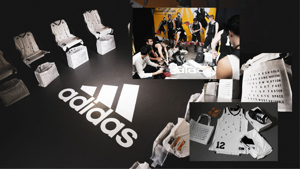 eb65d208e3fd With jerseys on their back and Harden Vol 3 on their feet
