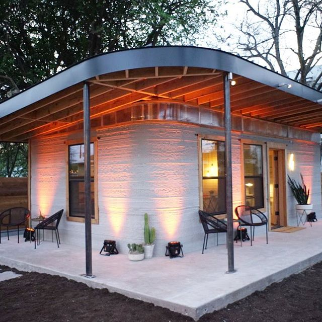 We think it's absolutely crazy that you can 3D print a home for $6000! @icon3dtech is doing amazing stuff.