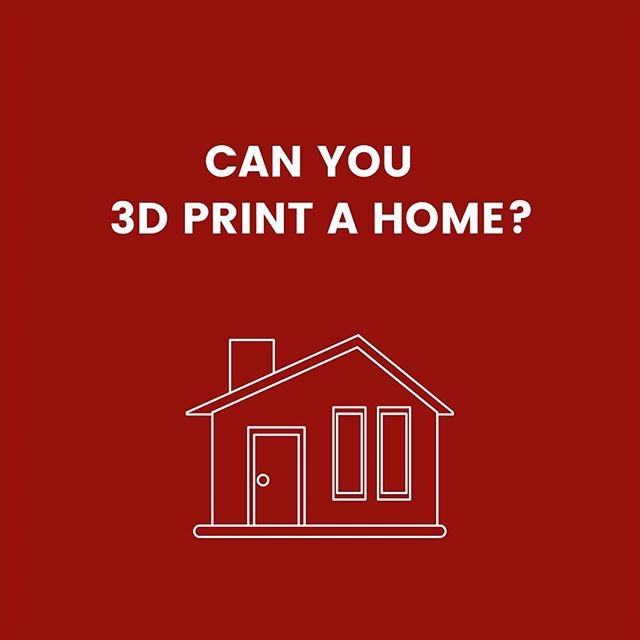 Didn't think it was possible but the first permitted 3D printed home was built in the US for the first time in March 2018! Do you want to 3D print your home?