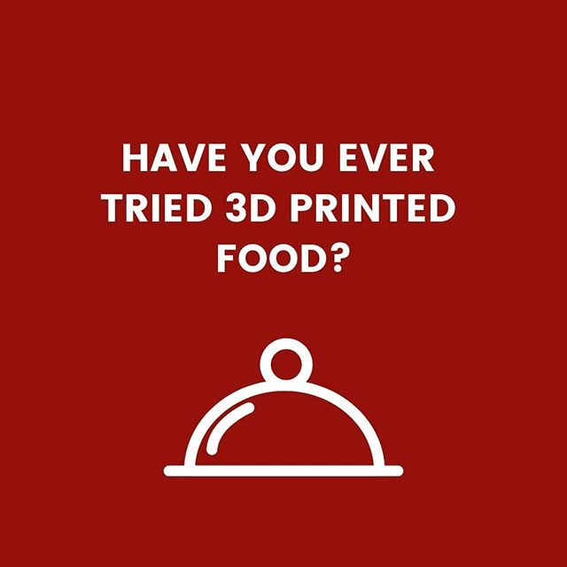 Did you know that right now, you can 3D print pizza, dumplings, pasta and even burgers?! Who here has tried 3D printed food? We'd love to know if it tasted good! . . . . . #3dfoodprinting #3dfood #3dprintedfood #instafood #foodporn #foodstagram #foodgasm #3dproducts #3ddruck #3dprint #thingiverse #creality #3dprinted #ender3 #pla #3dprinting #3dprints #ultimaker #3dprintinglife #3dprinters #myminifactory #3dprinters #3d101 #manufactur3d #additivemanufacturing #rapidprototyping #3dfilament
