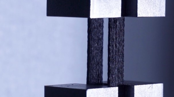 How many kilograms do you think the 3D printed carbon fiber composite connector will be able to hold? Swipe right to see a preview.  Watch the full video on our Facebook page or LinkedIn page! Comment your guesses below 🤗