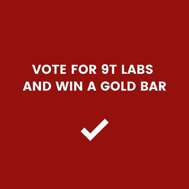 We made it to the 3 finalists of the ZKB Pionierpreis!  Want to win a real gold bar worth more than CHF 400 and at the same time give the 9T Labs team some support?  Please vote for 9T Labs and help our team making carbon fiber composites more accessible. Link in bio.  Thank you for your help, it is much appreciated!