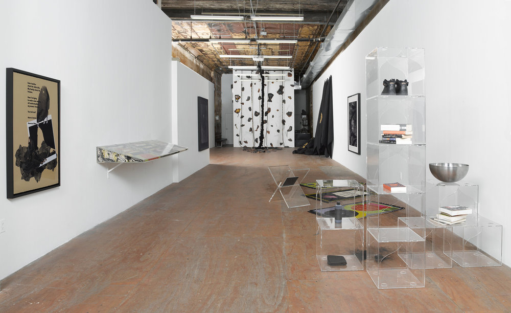 Reading Room, on Purpose, at  Participant INC., NY,   installation overview, 2017