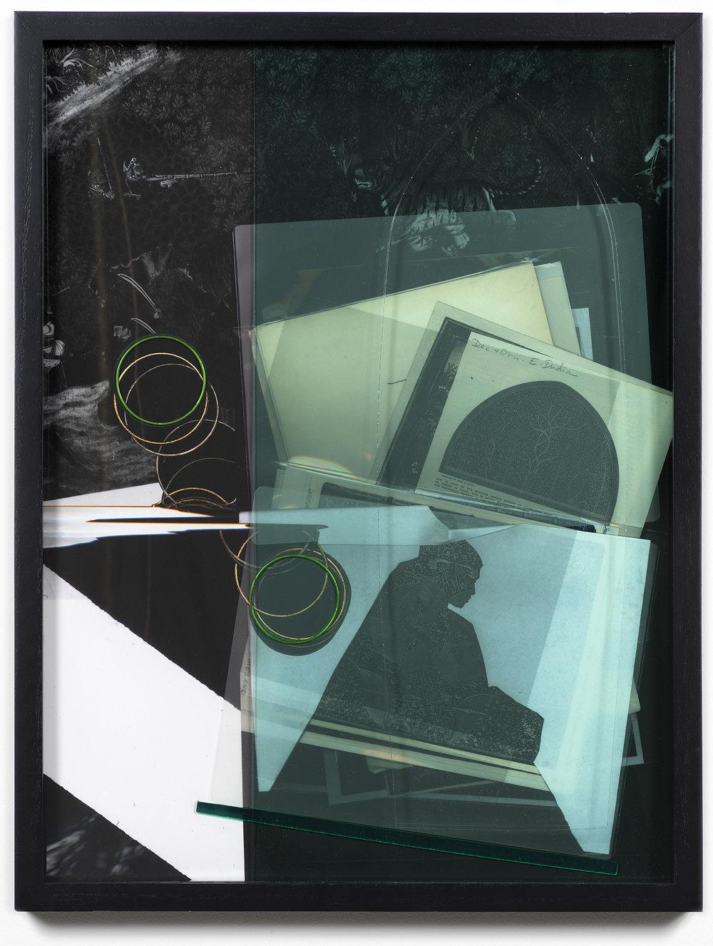 Purity , 2018, chromogenic print, acrylic, 24 x 18 inches