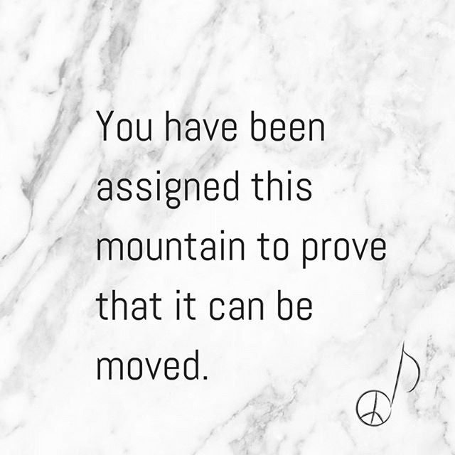 """You have been assigned this mountain to prove that it can be moved"" 🏆 Feel empowered today. You can achieve whatever you set your mind to. Nothing is impossible if you just believe in yourself #mindfulnessmonday #empowerment #movingmountains"