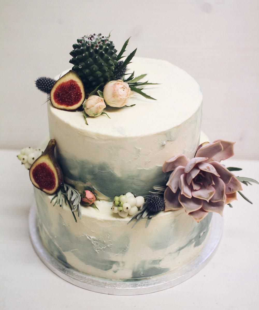 Moderna torta za rojstni dan.