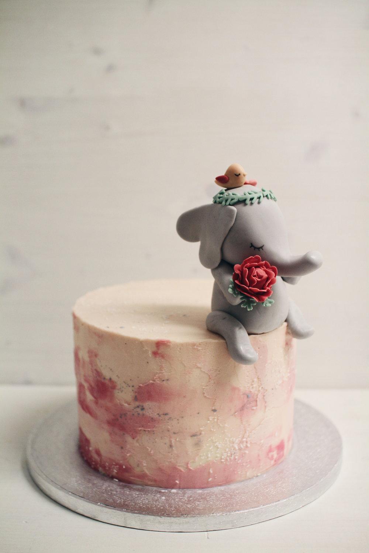 Slonček torta.