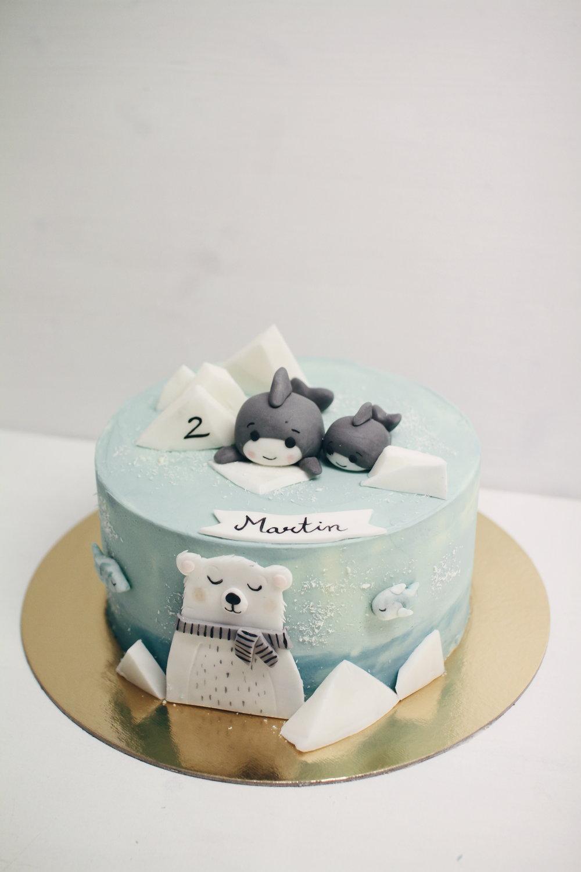 Morska otroška tortica.