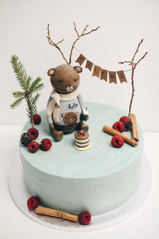 Otroška torta za fantke.