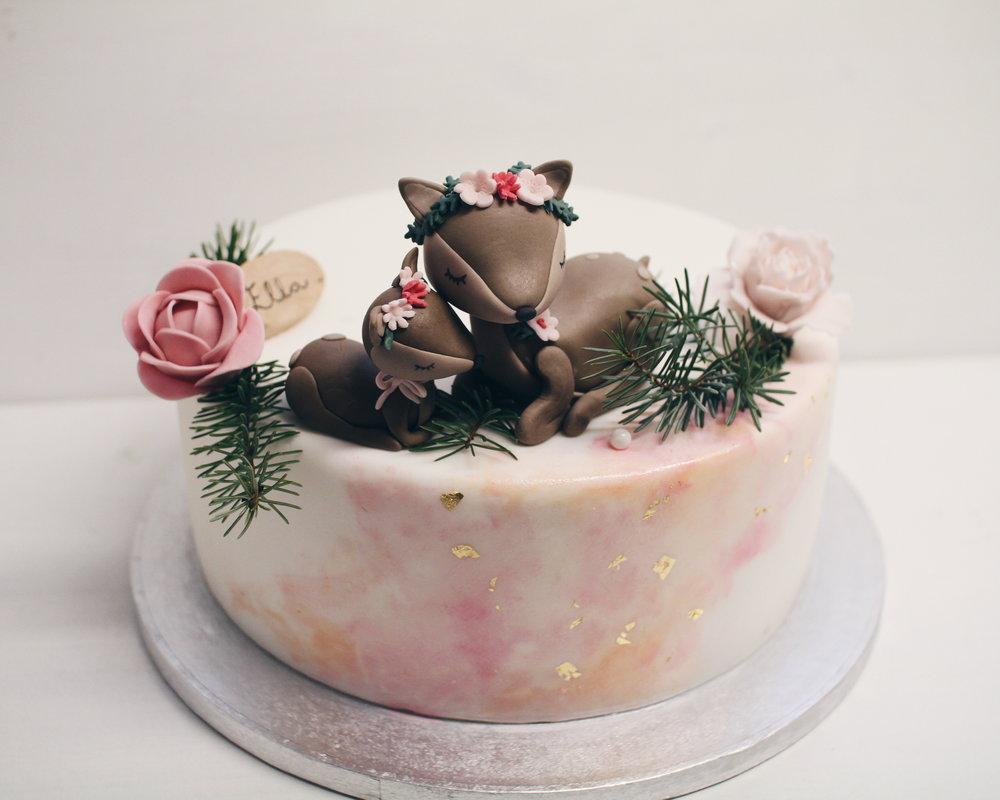 Torta za baby shower.