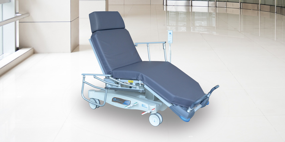 CLAVIA LSA CHIR - Stretcher bed for one day surgeryClick here for the online brochureClick here for more details