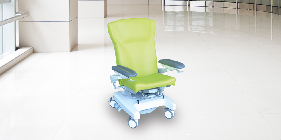 CAREXIA FPV - Electric variable height versatile treatment chairCarexia FPV,is a chair designed for post-surgery rest, blood sampling, care or examination, chemotherapy or hemodialysis.click here for the online brochureclick here for the range of colours