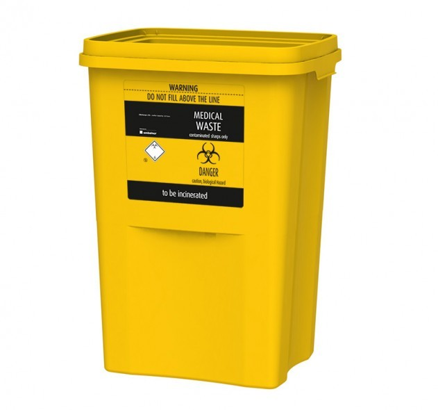 EMSharps 50 L - Reference:7500Volume:50Dimensions (L x W x H):400 x 330 x 567 mmTotal Capacity:50 000 mlUseful Capacity:40 000 mlDecoration:Label   IML